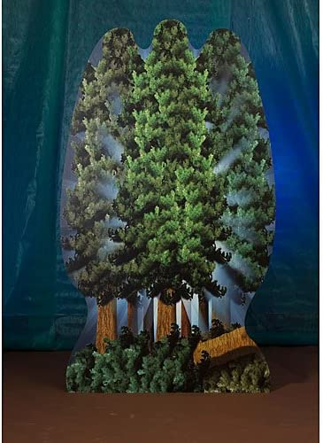 Tree Philadelphia Mall Standee Ranking TOP10 Party Prop Decoration Booth Photo Back Standup