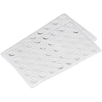 10 X Caoutchouc De Silicone Disques Pads 22 mm OD//6 mm Thick-Blanc #52