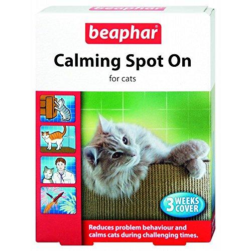 Beaphar Pipetas Calming Spot On para Gatos, 3 Unidades