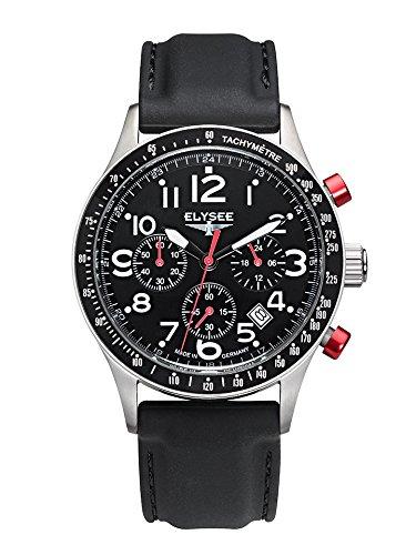 Elysee Racetrack1 Herren Armbanduhr Chronograph 80560WB