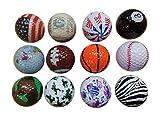 BZANY Fun Crazy Golf Balls (1 Dozen)
