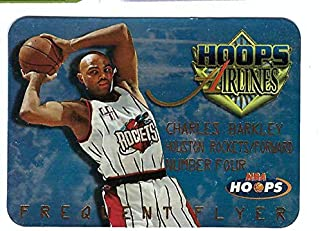 CHARLES BARKLEY 1997-98 Hoops Frequent Flyer Club #FF8 Card Houston Rockets Basketball