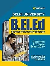 Delhi University B.El.Ed. Common Entrance Exam 2020