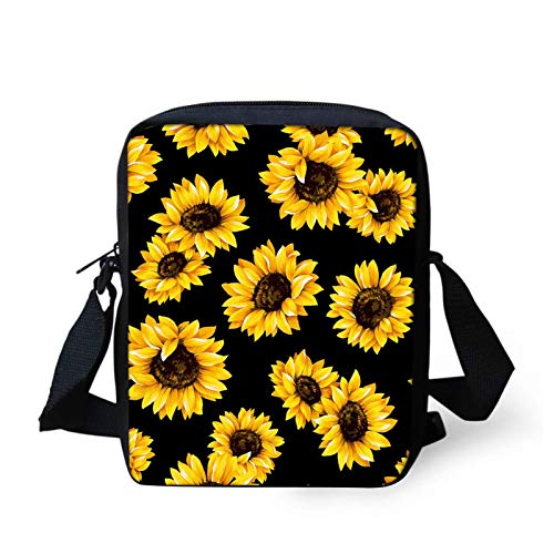 MAYE Floral Skull Print Sling Bags for Women Crossbody Backpack Travel Multipurpose Daypacks Shoulder Bag