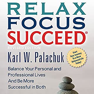 Relax Focus Succeed, Revised Edition audiobook cover art
