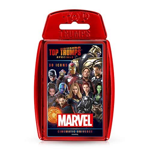 Marvel Cinematic Universe Top Trumps Specials Kartenspiel, WM01242-EN1-6