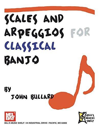 Scales and Arpeggios for Classical Banjo. Für Banjo, Banjo-Tabulatur