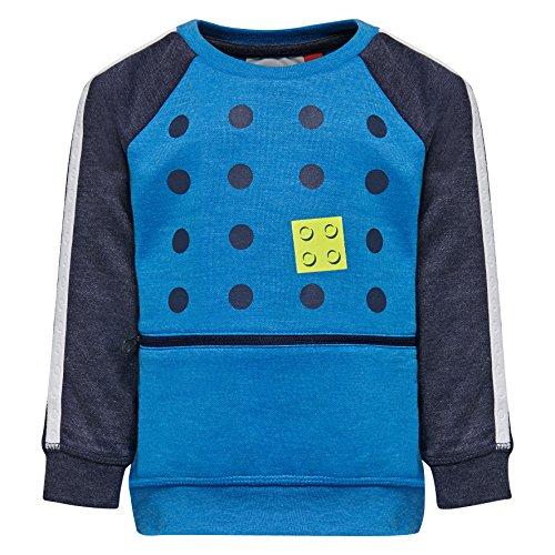 Lego Wear Duplo Boy Sander 603-SWEATSHIRT Maillot de survêtement, Bleu (541), 12 Mois Bébé garçon