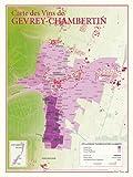 Carte des vins de Gevrey-Chambertin