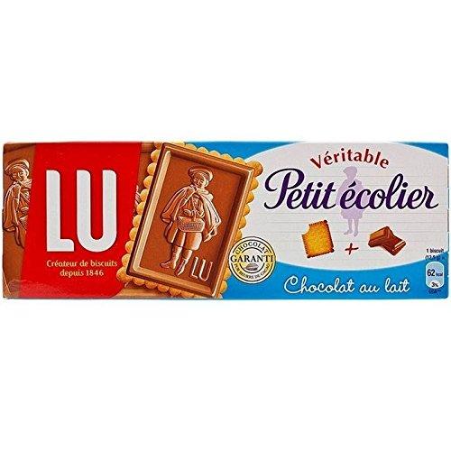 Lu Véritable Petit Ecolier Lait Biscuits Au Chocolat 150G - Paquet de 6