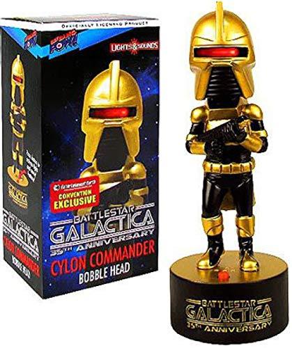 Battlestar Galactica - Bobble Head Électronique Cylon Commander SDCC 2013 Exclusive 18 cm