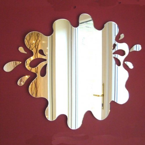 Super Cool Creations Splashes out of Puddle Mirror 35cm & Six Splashes