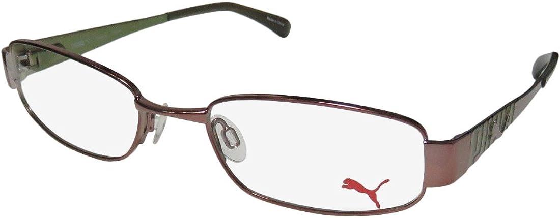 Puma 15244 Tavarua Mens/Womens Flexible Hinges TIGHT-FIT Designed for Jogging/Cycling/Sports Activities Eyeglasses/Glasses