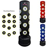 Mytra Fusion Pedestal 6ft Boxing Bag Free Standing Punching Target Boxing Stand(Black)