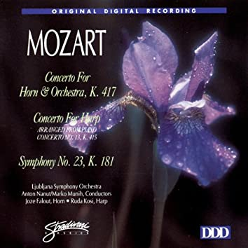 Concertos For Horn & Harp/Sym. #23