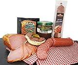 [page_title]-Wurstpaket Oberlausitz   Edel Salami & geräucherter Schinken am Stück   Blutwurst im Glas   verfügbar als Geschenk (Blutwurst)