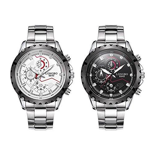Uhr Longbo Fonds schwarz 8840