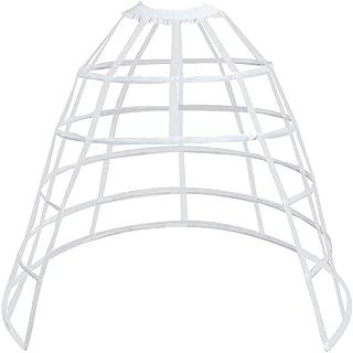 open front hoop skirt