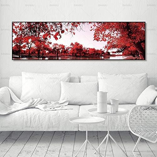 ganlanshu Landschaftsgrafik und rahmenlose Malerei 40cmX140cm