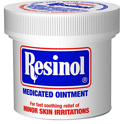 Resinol Medicated Ointment for Pain Relief and Protection of Skin Irritations, 3 Ounce