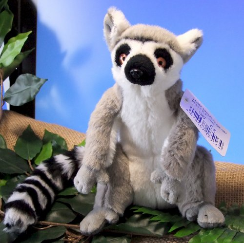 Plüschtier Lemur Katta sitzend