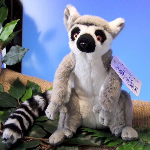 Katta Kuscheltier Stofftier 25cm - Sitting Ring-Tail Lemur (RB508)
