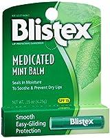 BLISTEX社 メディケイテッドミント バーム 0.15oz