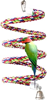 Bird Perch, Rope Bungee Bird Toy