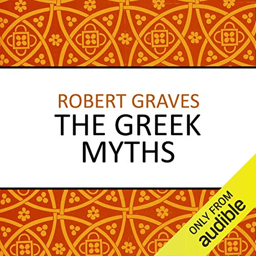 The Greek Myths audiobook cover art