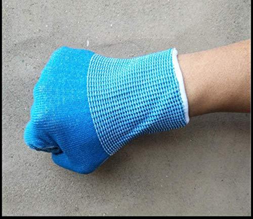 Sviqskr Grillhandschuhe Isolierte Handwache Eisenplatte Brennenbügelkleidung Arbeitsdünne Non-Slip Non-Ferrous Tragen Langlebige Atmungsaktive Dampfer