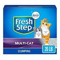 Fresh Step Cat Litter, Multi-Cat with Febreze, 20 Pound by Fresh Step