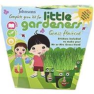Johnsons Little Gardeners Grass Haircut Grow Kit - Multi- Colour