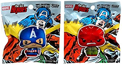 Marvel Collector Corps Captain America & Red Skull Pint Size Heroes Vinyl Collectible Mini Figure