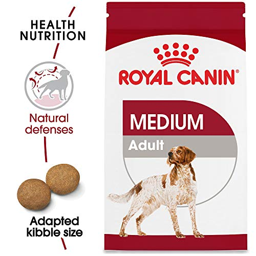 Royal Canin Medium Breed Adult Dry Dog Food, 30 lb. bag