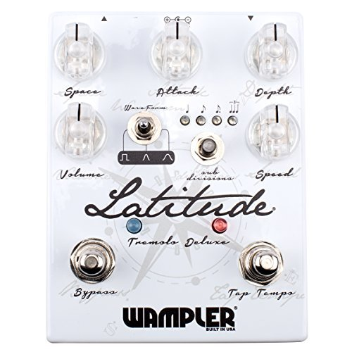 Wampler Pedals Latitude Deluxe V2 Tremolo Effects Pedal [並行輸入品]