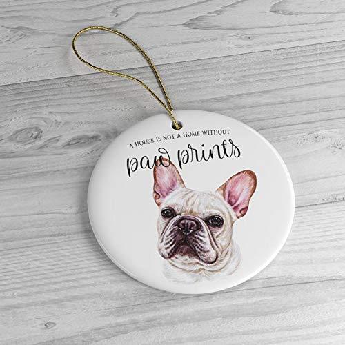 Frenchie Ornament, Frenchie Christmas Ornament, Frenchie Dog Gift