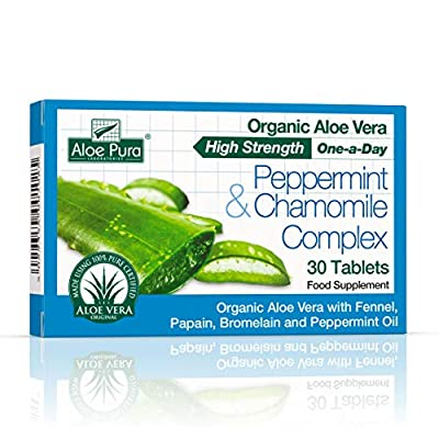 Aloe Vera Peppermint & Chamomile Tablets