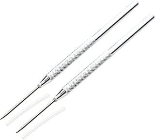 6 pcs Clay Needle Tools for Clay Pottery Sculpture Timoo Feather Wire Texture Tool
