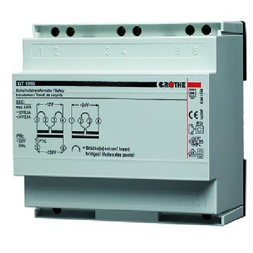 Grothe Klingel Transformator 12/24 V AC, 5,2/2,6 A, GT1990, 1512009