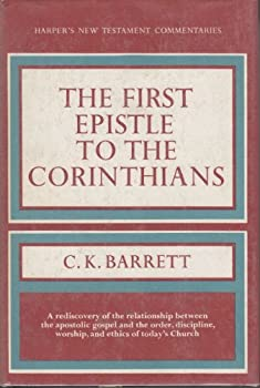 Hardcover The First Epistle to the Corinthians Book