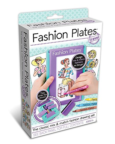 Kahootz Fashion Plates, Kit da Viaggio