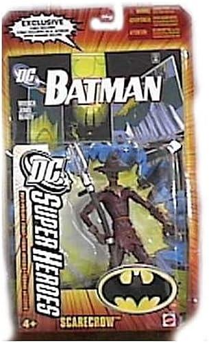 DC SUPERHEROES JUSTICE LEAGUE UNLIMITED SCARECROW Figure by Mattel