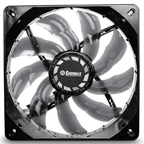 Enermax UCTB14B - Ventilador para Caja de Ordenador (750 RPM, 10 dB, 1.8 W), Negro