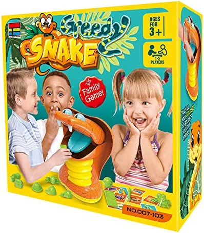 OMG Greedy Snake Board Game Get Things Back Challenge and Exciting Game Family Party Game for product image