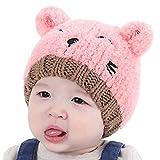 G-real Baby Hat,Newborn Infant Baby Blanket Knit Crochet Winter Warm Swaddle Wrap Sleeping Bag