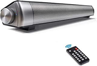 Sound Bar, Soundbar with Subwoofers Wireless Bluetooth Speaker for TV with Remote Controller 3D Surround