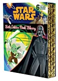 The Star Wars Little Golden Book Library (Star Wars): The Phantom Menace; Attack of the Clones; Revenge of the Sith; A New Hope; The Empire Strikes Back; Return of the Jedi