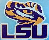 LSU Tigers, Large Tiger Eye/ LSU, Premium Decal, CORNHOLE