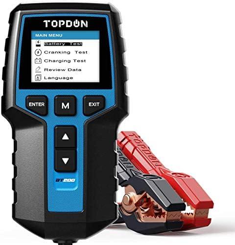 12V 24V Car Battery Tester Topdon BT200 100 2000CCA Automotive Alternator Battery Load Tester product image