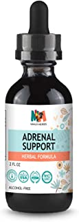 Adrenal Support Herbal Formula 2 fl oz Tincture Alcohol-Free Liquid Extract (Rhodiola, Ashwagandha)